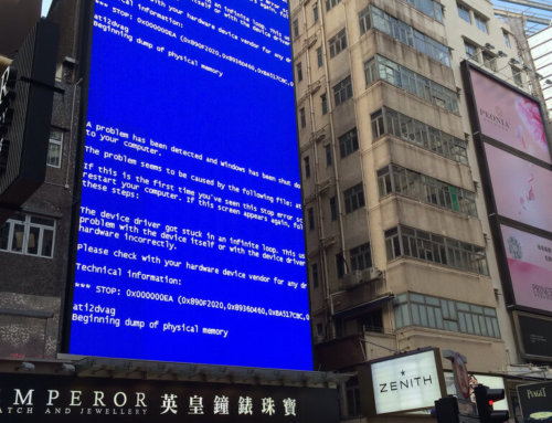 What Causes a Blue Screen of Death?